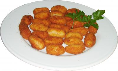 Croquetas de palitos de cangrejo
