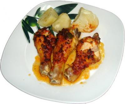 Pollo al horno (estilo canario)
